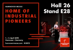 2019 Trade fairs: HANNOVER MESSE