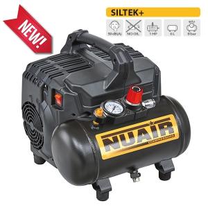 Nuovo SILTEK+, il compressore portatile senza olio silenziosissimo.